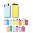 Official BTS Figure Color Soft Jelly Phone Case Cover 2nd Ver