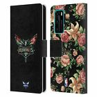 OFFICIAL NBA 2019/20 CHARLOTTE HORNETS LEATHER BOOK CASE FOR HUAWEI PHONES