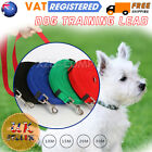 1.5m-30M Strong Nylon Slip On Rope Dog Puppy Pet Training Lead Leash UK