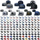 Unisex Adjustable Snapback Football Embroidery All Team Flat Brim Baseball Cap $11.99 USD on eBay