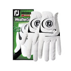 THREE 2 PACKS FOOTJOY WeatherSof GOLF GLOVES YOU CHOOSE SIZE 6 GLOVES TOTAL
