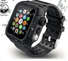 Waterproof Case with Band For Apple Watch iWatch Series 5 4 3 2 1 44/42/40/38mm image