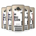 HEAD CASE DESIGNS LUGGAGE TAGS 3 SOFT GEL CASE FOR MOTOROLA PHONES