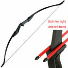 30/40lbs Takedown Recurve Bow Hunting 3D Archery Target Practice Right Left Hand