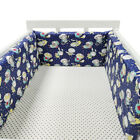 1/4 Pc/Set Newborn Baby Crib Bumper Pads Comfy Safety Bed Cot Protector Padded