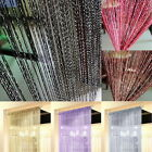 String Door Curtain Room Divider Fringe Crystal Tassel Panel Adorn Window