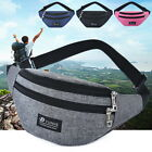 Mens Cycling Waist Belt Bag Pack Wallet Sports Purse Hip Casual Travel