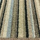 Stripe Carpet Duck Egg Blue Contemporary Hard Wearing £9.50 sqm 4m x Any Length