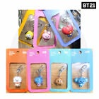 BTS BT21 Official Authentic Goods Figure Keyring Baby Ver + Tracking Code