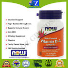 Now Foods, Vitamin D-3 High Potency , 2,000 IU Structural Support $16.01 AUD on eBay