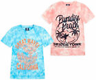 Boys T-shirt Cotton Summer Top Tie Dye Short Sleeve T shirt New Age 2 - 13 Years