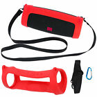 Silicone Case Cover Carry Bag for JBL Charge4 Bluetooth Audio Speaker Shockproof