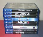Sony PlayStation 4 PS4 Games (Excellent w/ Mint Disc) - You Pick and Choose!