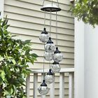 Hanging Globe Solar Lights - Outdoor Pendant Lamp for Patios, Porches and Yards