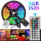 Kyпить 16FT Flexible Strip Light 3528 RGB LED SMD Remote Fairy Lights Room TV Party Bar на еВаy.соm