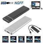 M.2 NGFF SSD Hard Disk Drive Case USB Type-C USB 3.1 NVME PCIE HDD Enclosure
