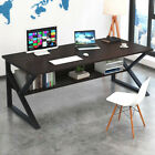 Kyпить Computer Table Modern Desk Home Office Study Workstation Writing Furniture BLACK на еВаy.соm