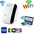 300Mbps WiFi Repeater Wireless Router Range Extender Signal Booster WPS Amplifie