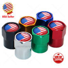 Hex America USA Flag Logo Car SUV Wheels Tire Air Valve Caps Stem Dust Cover $8.99 USD on eBay