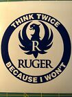 Ruger Decal Sticker Decal Logo