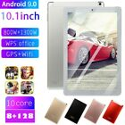 10.1 Inch Tablet Hd Pc Wifi Gps Android 9.0 8+128g Dual Sim Camera Wireless Uk