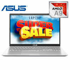 Asus M509ba Amd A9 3.1ghz, 8gb Ddr4, 256gb Ssd, 15.6 Fhd, Backlit Kb, Win 10 Pro