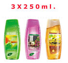 AVON X 3 Senses For Her Shower Gel,Mixed Set, 250ML.Each,New,Gift Set
