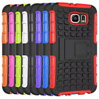 Phone case Samsung S6 iphone 6 kick stand rubber, shock proof case 2 in1 armour