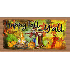 Fall Halloween - Pumpkin Plaque -GS2607-Happy Fall Y'All-Gigglestick Wood Sign