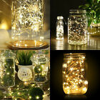 Xmas Decor Battery Operated Mini LED Copper Wire String Fairy Lights 1m 20 LEDs