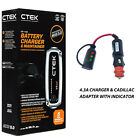 Battery Charger Conditioner Trickle Charger for Cadillac XT4