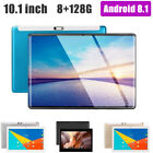 """10.1"""" 4g-lte Tablet Pc Android 8.1 2.5d Screen 8+128g Dual Sim Phablet Uk"""