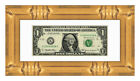 Matted Dollar Bill Frame For Your First Dollar - Over 30 Styles - Currency Frame