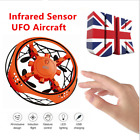Mini UFO Drone RC Infrared Sensor Induction Aircraft Quadcopter Kids Outdoor Toy