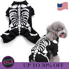Halloween Puppy Pet Dog Clothes Costume Horror Skeleton Cat Chihuahua Funny Gift
