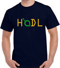SIA COIN HODL BTC Crypto Design Mens T Shirt Custom Made Print Graphic Top NEW