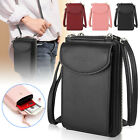 Women Small Mini PU Leather Wallet Purse Coin Cell Phone Crossbody Shoulder Bag