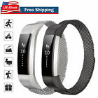 For Fitbit Alta / Alta HR Metal Magnetic Stainless Steel Band Replacement Strap image