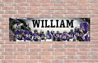 Baltimore Ravens 2020 Roster Personalized Poster Customized Banner Frame Options $37.5 USD on eBay