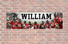Atlanta Falcons 2020 Roster Personalized Poster Customized Banner Frame Options $15.0 USD on eBay