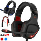 Kyпить Pro Gaming Headset With LED For XBOX One PS4 Laptop Headphones Microphone 2020 на еВаy.соm