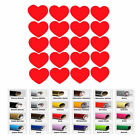 20 Heart stickers for Envelope Seals party cup decals kids girl birthday Wedding