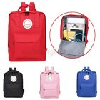 US Women Men Large Backpack School Shoulder Bag Travel Rucksack Satchel Handbag image