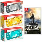 NEW Nintendo Switch Lite + Super Mario Odyssey PICK COLOR Turquoise Gray Yellow