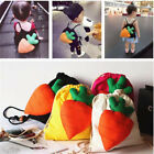 2020 Creativity Child Backpack Cloth Bag Canvas Schoolbag Diaper Pockets