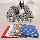 Fleece Dog Blanket Pet Cat Dog Sleeping Bed Mat for Small Medium Large Dogs Cats