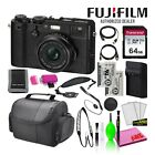 Купить Fujifilm X100F Point and Shoot Digital Camera (16534651) Budget Bundle