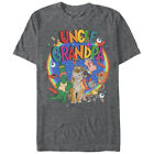 Uncle Grandpa Characters Mens Graphic T Shirt