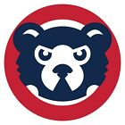 Chicago Cubs Mascot Cub Circle Sticker  |  Vinyl Decal  | 10 Sizes!!! on Ebay