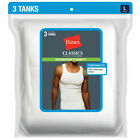 Hanes Men's Classics Comfortsoft Tanks, 3-Pack <br/> Buy Direct from BOBS Stores